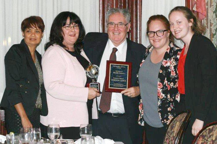 Outstanding Service Award for Adoption Service in Ontario